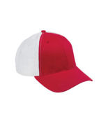 Logo Big Accessories Old School Baseball Cap with Technical Mesh