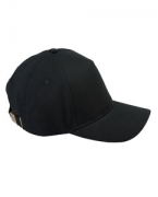 Logo Big Accessories 5-Panel Brushed Twill Cap