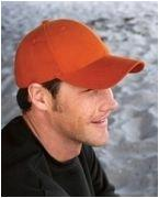 Embroidered Big Accessories 6-Panel Brushed Twill Structured Cap