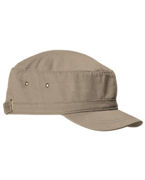 Embroidered Big Accessories Short Bill Cadet Cap