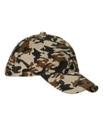 Customized Big Accessories Unstructured Camo Hat