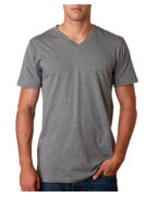 Custom Logo Canvas Mens Delancey V-neck Tee