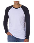 Embroidered Canvas Mens Hawthorne Baseball Tee