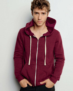 Embroidered Canvas Unisex 8.2 oz. Triblend Sponge Fleece Full-Zip Hoodie