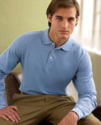 Promotional (ch110a) Chestnut Hill Long-Sleeve Performance Plus Piqu� Polo