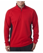 Monogrammed Champion Adult Performance Color Block 1/4-Zip Jacket