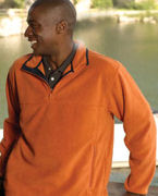 Embroidered Chestnut Hill Microfleece Quarter-Zip Pullover
