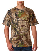 Personalized Code V Adult REALTREE Camouflage T-Shirt