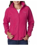 Logo Columbia Ladies' Benton Springs� Full-Zip Fleece