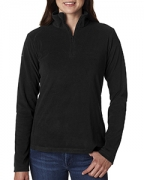 Logo Columbia Ladies' Crescent Valley 1/4-Zip Fleece