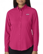 Embroidered Columbia Ladies' Tamiami  II Long-Sleeve Shirt