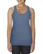 Embroidered Comfort Colors Ladies' Racer Tank Top