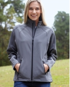 Promotional Devon & Jones Ladies' Bonded Tech-Shell Duplex Jacket