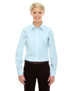Customized Devon & Jones Ladies' Crown Collection Solid Oxford
