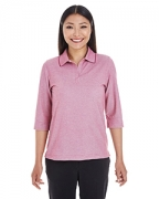 Custom Embroidered Devon & Jones Ladies' Pima-Tech Oxford Pique Polo
