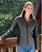 Customized Devon & Jones Ladies' Soft Shell Colorblock Jacket
