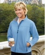 Custom Logo Devon & Jones Ladies' Soft Shell Jacket