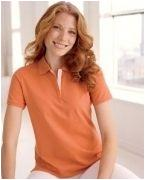 Monogrammed Devon & Jones Ladies' Tanguis Cotton Piqu Polo