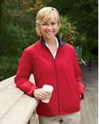Custom Embroidered Devon & Jones Ladies' Three-Season Classic Jacket