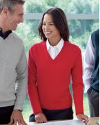Promotional Devon & Jones Ladies' V-Neck Sweater
