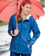 Embroidered Devon & Jones Ladies' Waterproof Tech-Shell Torrent Jacket