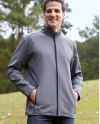 Monogrammed Devon & Jones Men's Bonded Tech-Shell Duplex Jacket