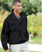 Custom Logo Devon & Jones Men's Clubhouse Jacket