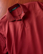 Custom Logo Devon & Jones Men's Dri-FastT AdvantageT Solid Mesh Polo