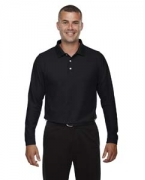 Embroidered Devon & Jones Men's DRYTEC20 Performance Long-Sleeve Polo