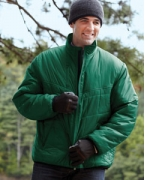 Customized Devon & Jones Men's Insulated Tech-Shell Reliant Jacket