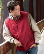 Monogrammed Devon & Jones Men's Soft Shell Vest