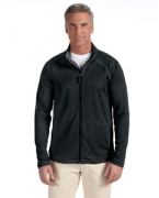 Logo Devon & Jones Men's Stretch Tech-Shell Compass Full-Zip