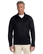 Promotional Devon & Jones Men's Stretch Tech-Shell Compass Quarter-Zip