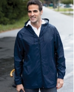 Logo Devon & Jones Men's Waterproof Tech-Shell Torrent Jacket