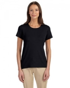 Personalized Devon & Jones Perfect Fit Ladies Shell T-Shirt