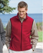 Monogrammed Devon & Jones WinterceptFleece Vest