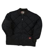 Monogrammed Dickies Diamond Quilted Nylon Jacket