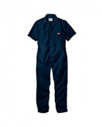 Embroidered Dickies 5 oz. Short-Sleeve Coverall