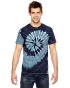 Logo Dyenomite for Team 365 Team Tonal Spiral Tie-Dyed T-Shirt