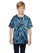 Customized Dyenomite for Team 365 Youth Team Tonal Cyclone Tie-Dyed T-Shirt