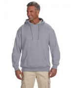 Customized econscious 7 oz. Organic/Recycled Heathered Fleece Pullover Hood