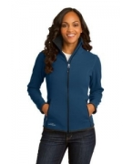 Custom Embroidered Eddie Bauer� Ladies Full-Zip Vertical Fleece Jacket