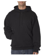 Embroidered Fruit of the Loom Adult Supercotton Hooded Sweatshirt
