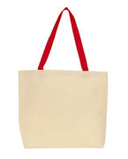 Promotional Gemline Colored Handle Tote