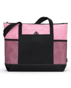 Logo Gemline Select Zippered Tote