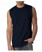 Custom Embroidered Gildan Adult Ultra Cotton Sleeveless T-Shirt