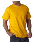 Customized Gildan Adult Ultra Cotton T-Shirt with Pocket