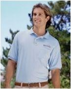 Custom Embroidered Gildan 5.6 oz. DryBlend 50/50 Jersey Polo with Pocket
