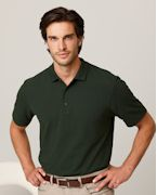 Custom Embroidered Gildan 6.5 oz. DryBlendT Pique Sport Shirt