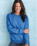 Promotional Gildan Heavy Blend Ladies' 8 oz., 50/50 Fleece Crew